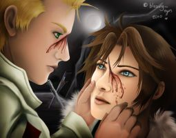 Seifer x Squall: I'm Sorry by blazing-eyes