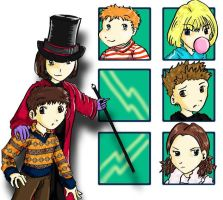 Charlie's Chocolate Factory by Chinroku-sama