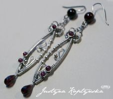 Garnets fishes by SweetCandyDreams