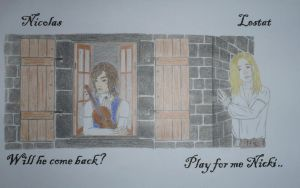 Lestat and Nicolas by MissDaydreamOo