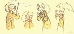 Yellow Raincoat by marlenakate