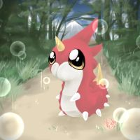 My Little Wurmple by JigokuShii