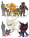 More fun with Pokemon by manic-in-tricolour