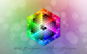 Web designer's colors hexagon by Naeki-Design
