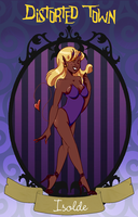 Distorted-Town App: Isolde by Shadowstar