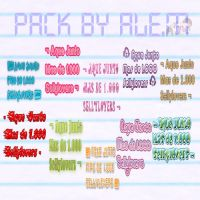 PACK Aque Junto Mas de 1.000 Sellylovers BY ALE by DDLoveEditions