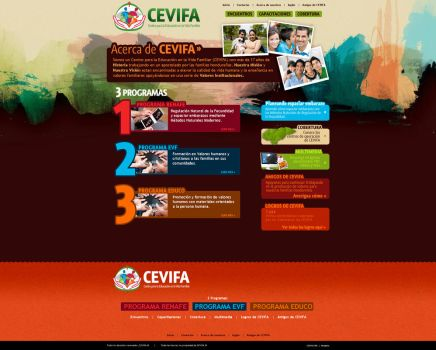 NEW cevifa.org by jQuan