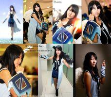 FF VII: Rinoa Heartily by jycll