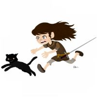 Arya Stark by TheSketchBoy