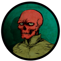 Red Skull by JasonCasteel