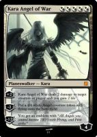 Kara Angel of War by Volectric