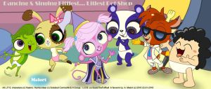 LPS Dancing Pet Shop by Malort57