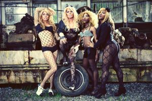 Junkyard Queens by DanOstergren