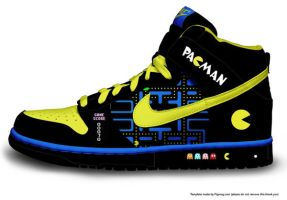 pacman shoe by an0nam00se