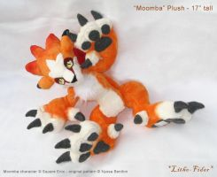 Moomba plush kawaii pose by Lithe-Fider