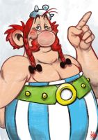 Daily Sketches Obelix by fedde