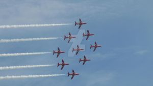 Red Arrows Bournemouth by MadameMalaki