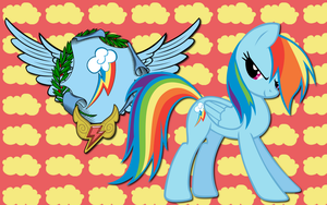 Rainbow Dash CoA WP by AliceHumanSacrifice0