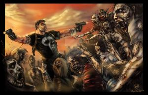 Frank Castle: Walking Dead II by Ace-Continuado