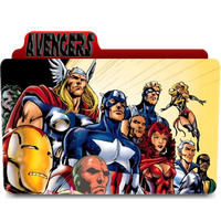 The Avengers Icon Folder by euterpemusa