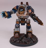 Warhammer 40K Forgeworld Contpemptor Dreadnought by JustinSoli