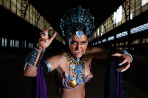 Akasha - Queen of the Damned by kn8e