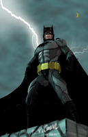 Batman Rises by NVent3d