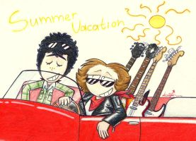 Summer Vacation by IcebergLonely