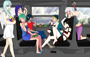 .:COLLAB: DONE:. Summer trip by doris4u
