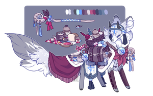 Powdered Snow ~ Auction (Closed) by LunarAdopts