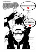 Naruto nd kakashi in cover 314 by valenior