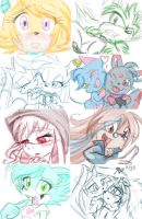 Muro Doodles 2 by TurtieDroppings