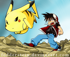 Pokemon Special : Pikachu I choose you! by Fodderstein