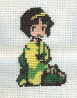 Cross Stitch Fan Art- Erika by missy-tannenbaum