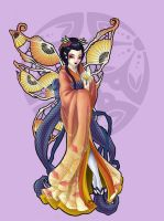Strange Fairies Geisha: Summer by JessiBeans