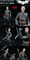Ra's Al Ghul League of Shadows Custom Figure by MintConditionStudios