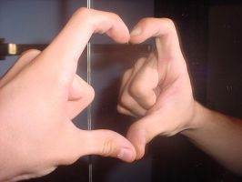 Heart with Hand by Damninic