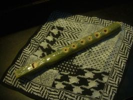 Homemade Pennywhistle by HelioIgnus