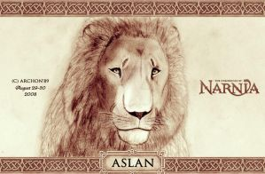 Tribute to Aslan by Archon89