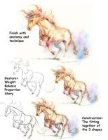 Tutorial - Horse Drawing 007 by sheldonsartacademy