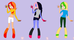 Sonic Super Sisters by TalortehCyndaquil