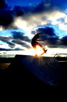 Sunset Skate Session by Knux68