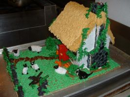 Gingerbread House by Kahlan4
