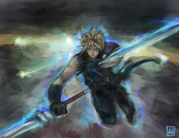 Cloud Omnislash by bulletproofturtleman