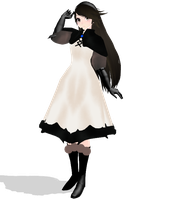 [MMD Newcomer] Agnes Oblige (Bravely Default) by SapphireRose-chan