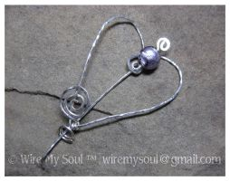 Melissa Shawl Pin by WireMySoul