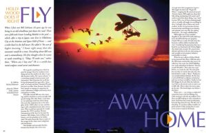 Hang Gliding Magazine design by VectorProfessor