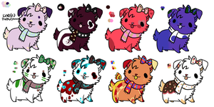 More Little Doggie Adopts (OPEN) by Pinkedalink