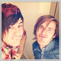 Anthony Padilla and Pewdiepie by MeryHeartless