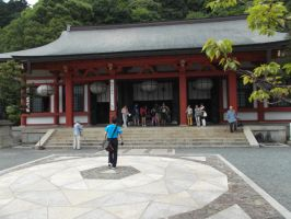 Kurama Temple by Dandric101